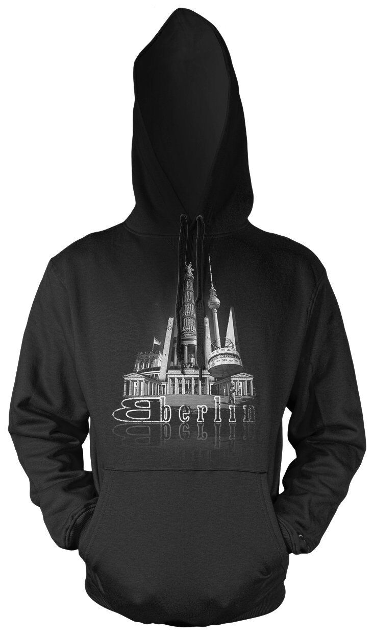 In the City Berlin Kapuzenpullover | Skyline Brandenburger Tor Alexanderplatz