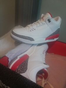 c578c08a4423 Nike Air Jordan 3 Retro Katrina Hall Of Fame Size 10.5 136064-116 ...