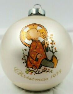 Vintage Schmid Sister Berta Hummel Christmas Ornament 1975 Christmas Child