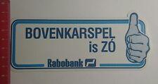 Aufkleber/Sticker: Rabobank Bovenkarspel is Zó (02011760)