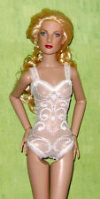 """Ready2Wear White Lace Teddy Outfit Fits Tonner 13"""" Fashion Dolls Simone Suzette"""