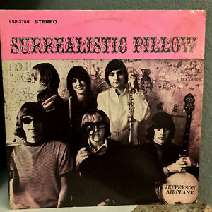 JEFFERSON-AIRPLANE-Surrealistic-Pillow-1st-Press-LSP-3766-Vinyl-Record-LP-VG