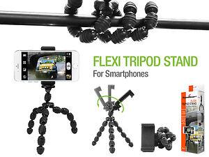Image Is Loading Flexible Adjustable Tripod Stand Holder Mount For Samsung