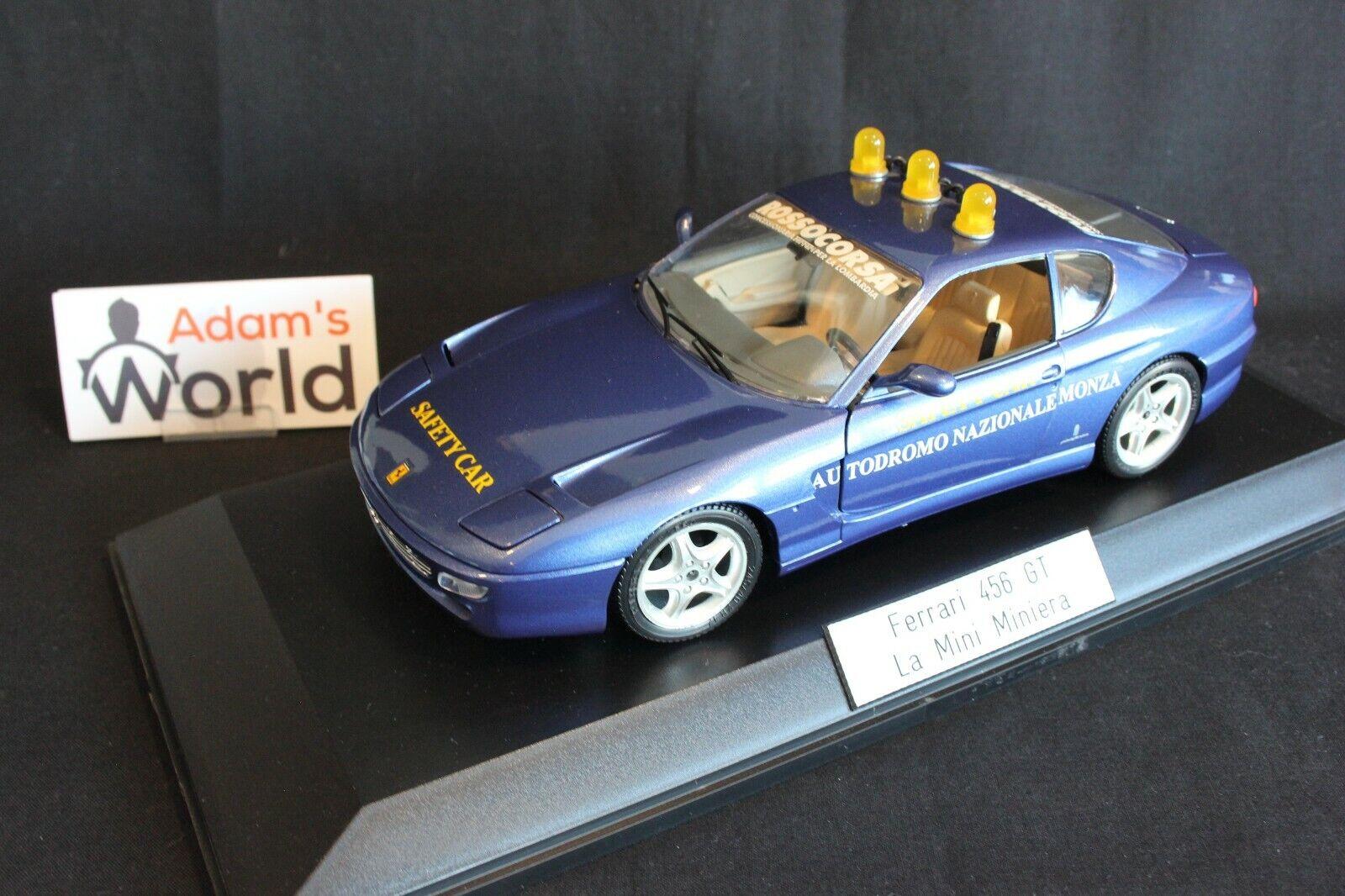 risparmia il 60% di sconto La Mini Miniera Ferrari Ferrari Ferrari 456 GT 1 18  Safety auto Monza  1995 (PJBB)  negozio outlet