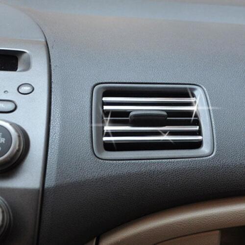 10ft Car Auto Bright Silver Chrome Moulding Trim Bumper Strip Adhesive 3M 6mm