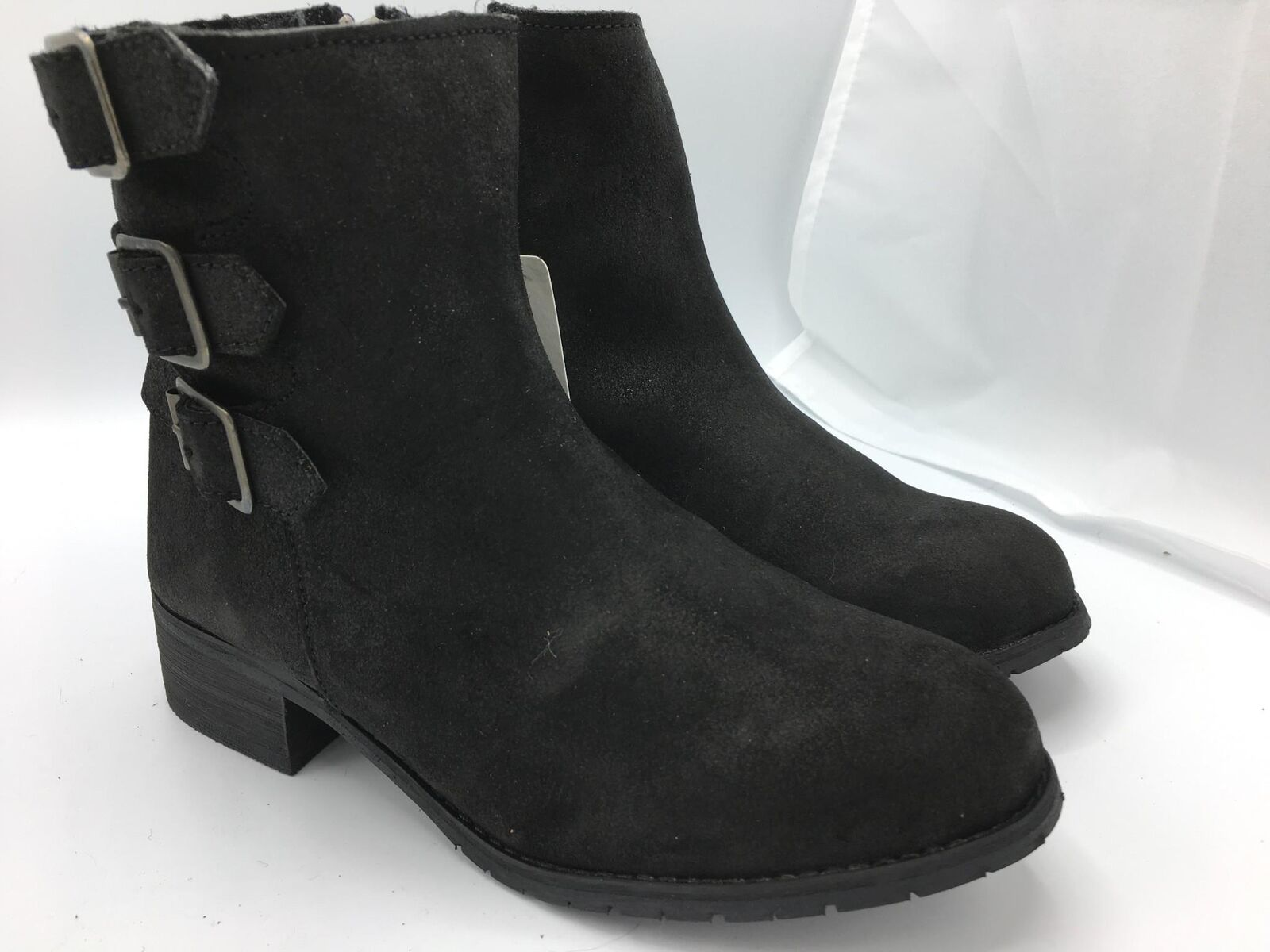 BooRoo Women&#039;s Jules Ankle Boots (1391,1392,139<wbr/>4) Black Oiled Suede Ret. 5
