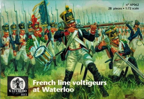 French Line Voltigeurs At Waterloo Waterloo 1815-062 1:72