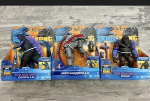 Godzilla Vs Kong Playmates Hong Kong Battle Set Purchase Together/Individually