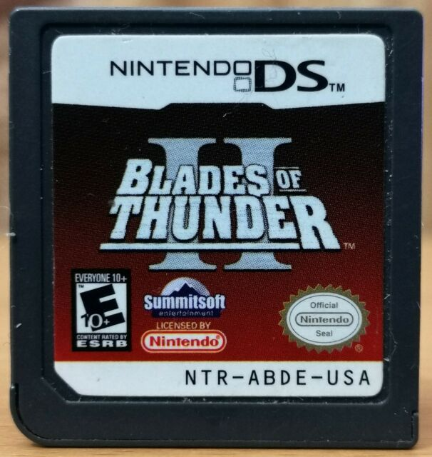 Blades of Thunder II (2) (Nintendo DS, 2006) * Disk only E