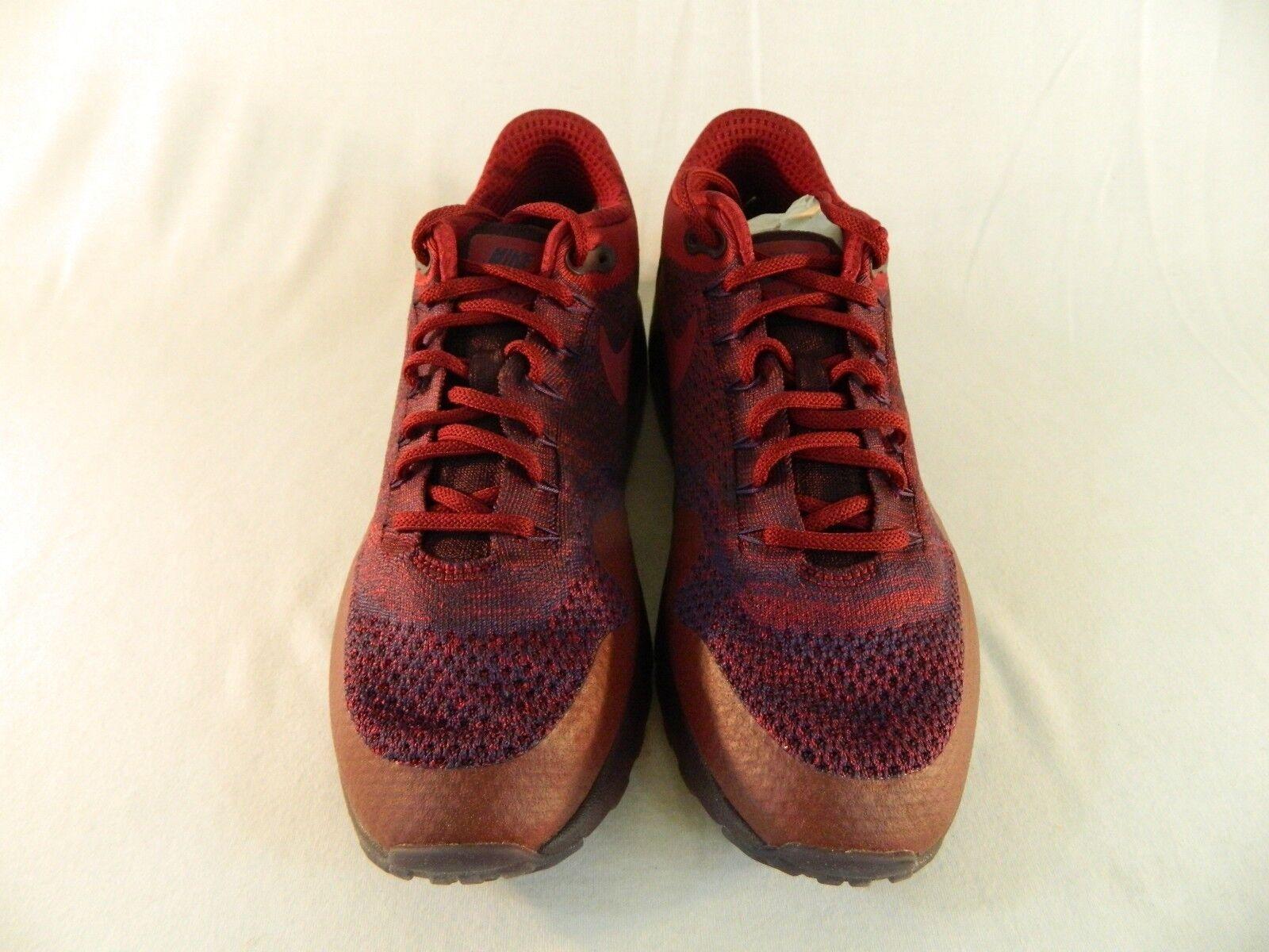 Nike Air Max 1 Ultra Flyknit Grand Grand Grand Purple Team Red  Men's 11.5 (856958 566) 30e672