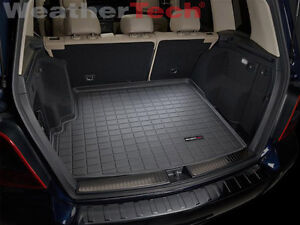 Weathertech cargo liner trunk mat mercedes benz glk for Mercedes benz car trunk organizer