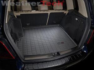 Weathertech cargo liner trunk mat mercedes benz glk class for Mercedes benz glk350 accessories