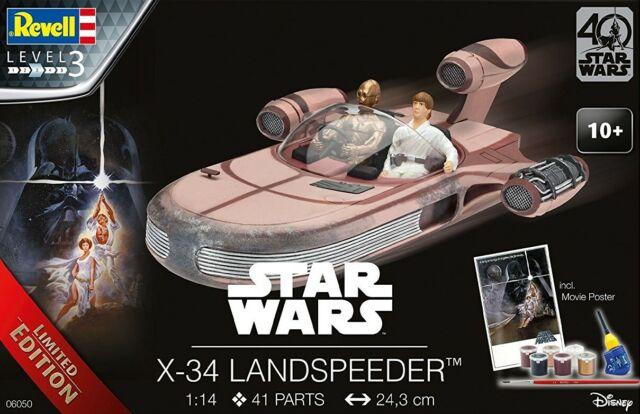 Revell Modellbausatz Raumfahrt SciFi Star Wars X-34 Landspeeder 06050 1:14