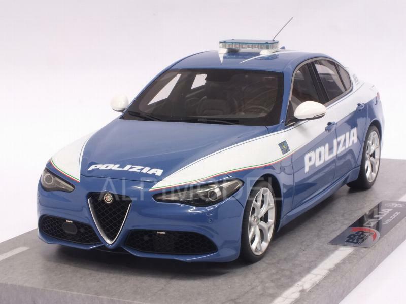 Alfa Romeo Giulia Veloce Polizia 2016 1 18 BBR BBRC1829POLI