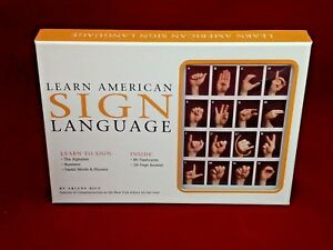Learn-American-Sign-Language-Arlene-Rice-Flashcards-Booklet-NEW-Factory-Sealed