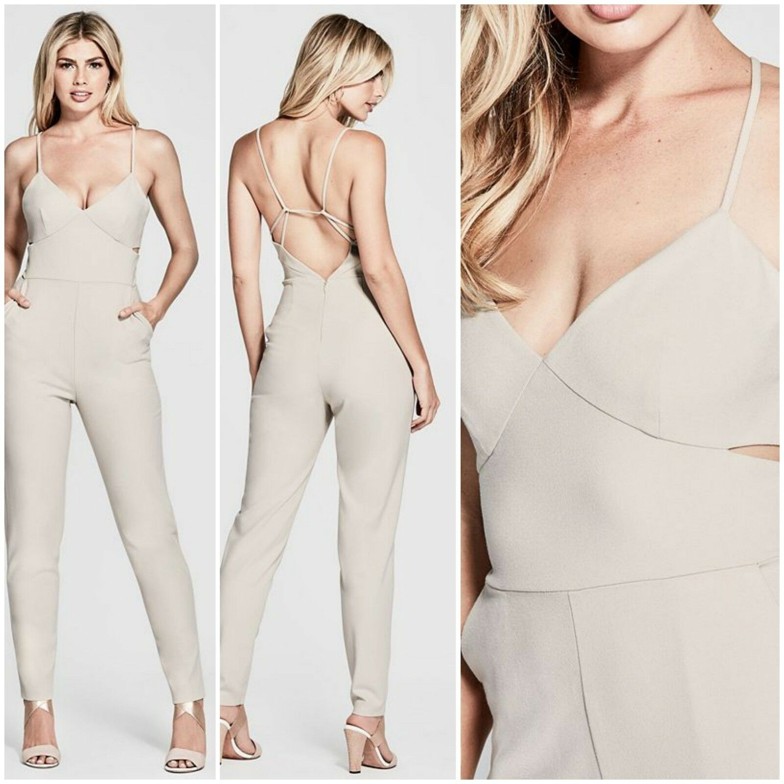 NWT GUESS by Marciano Women's Kristina Jumpsuit Size S