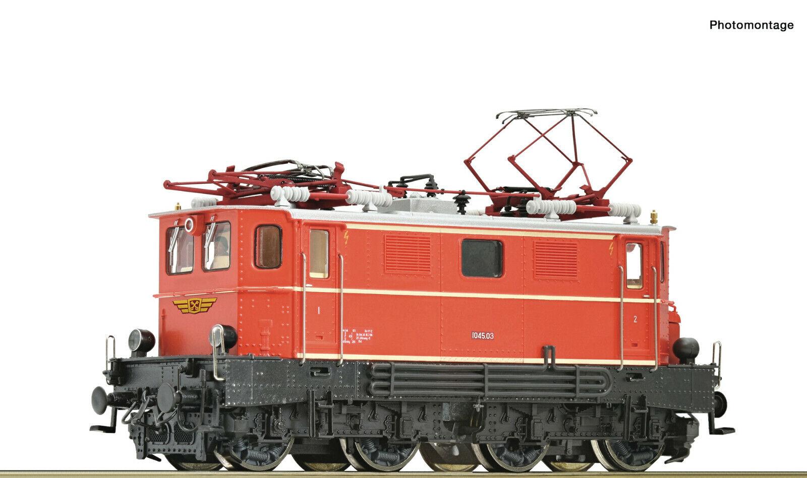 Para Märklin Roco 79503 Locomotora Eléctrica 1045.03 Montafonerbahn ( ÖBB )