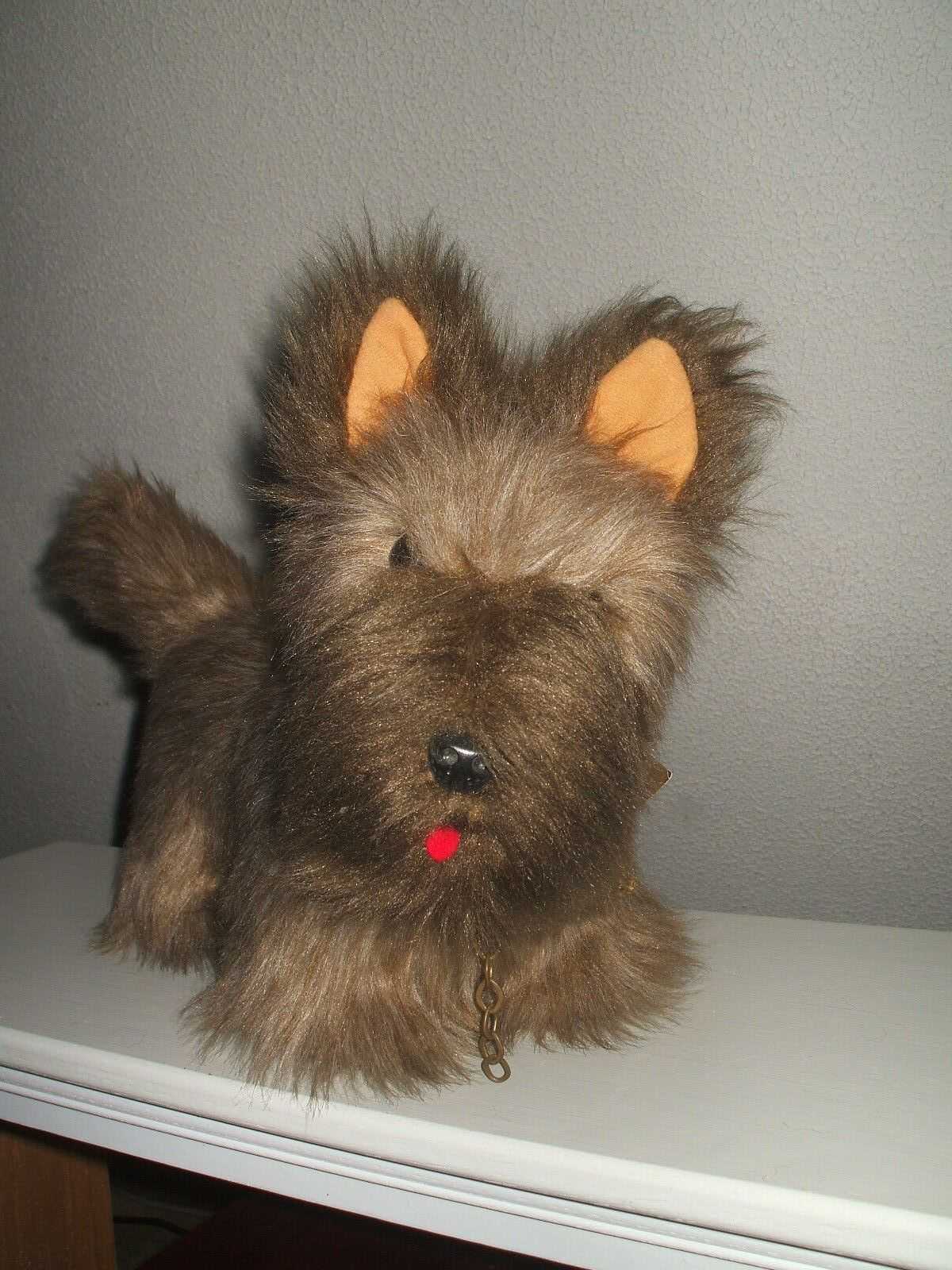 Vintage GERB HERMANN K.G. Teddy Original Large  Mohair Terrier Hand Made