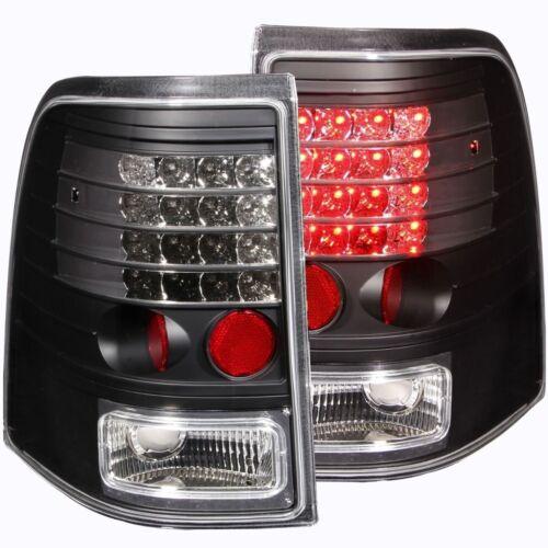 FOR 2002-2005 FORD EXPLORER L.E.D TAIL LIGHTS TAIL LAMP BLACK HOUSING Pair LH+RH
