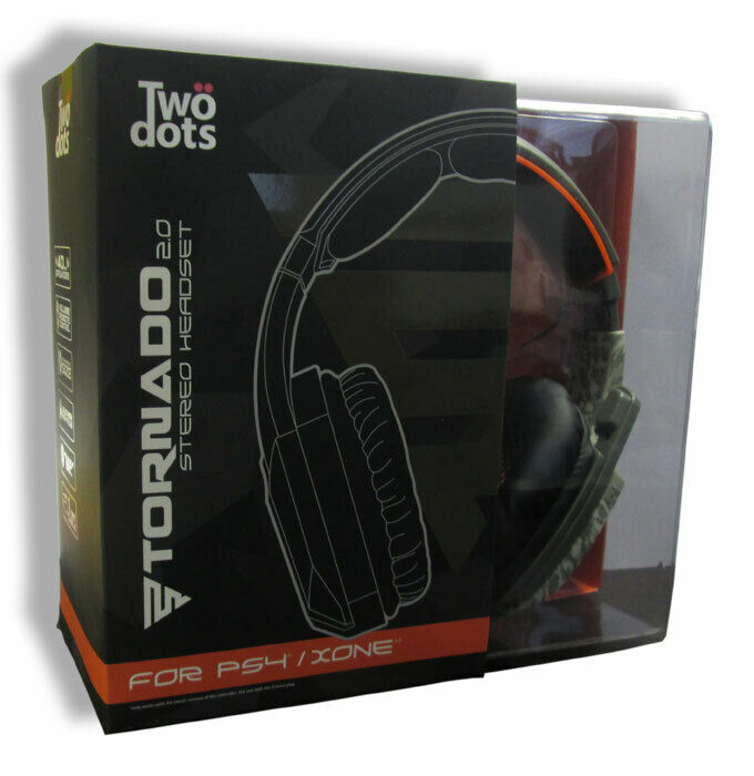 Two Dots Headphones Gaming Headset Stereo Tornado 2.0 Camo PS4/Xbox One