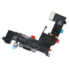 Original Replacement Dock Connector/Headphone Jack Flex for Apple iPhone 5 BLACK