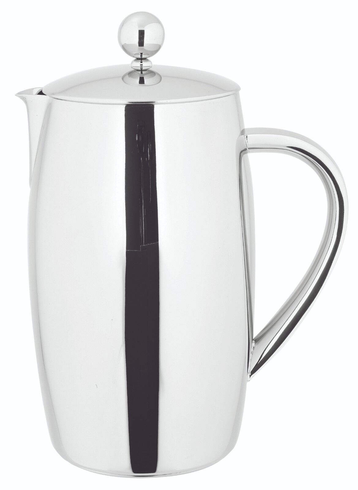 AVANTI DELUXE TWIN WALL COFFEE PLUNGER 1.2L 8CUP STAINLESS STEEL  289