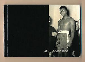 MUHAMMAD ALI Boxing Postcard Booklet 30 CARDS Robert Frederick 2004 UK Import