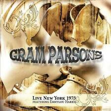 Gram Parsons - Live New York 1973 (Featuring Emmylou Harris) 2CD