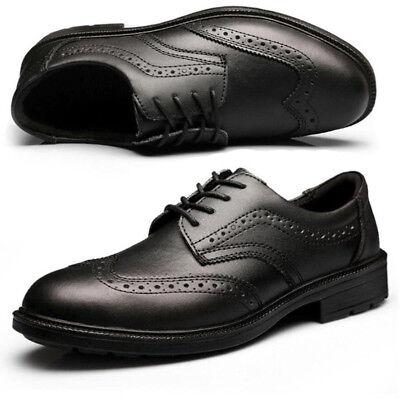 Mens Dress Safety Work Shoes Smart