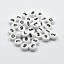Lot 50-200 Perle Rond 7mm Blanc Chiffre Braclet 7 x 4mm Porte clé
