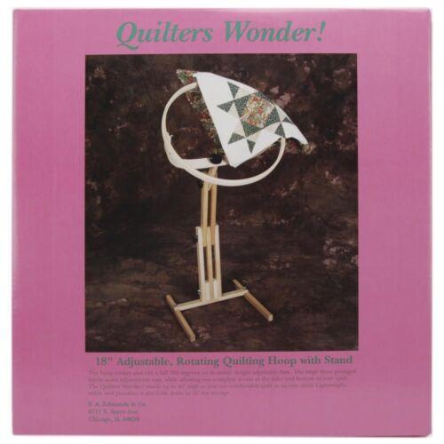 Edmunds Quilters Wonder Réglable Quilting hoop frame avec support-Plancher F.A