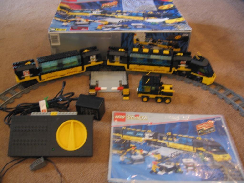 Lego Train 4559 Cargo Railway - 100% Complete w/Box & Instructions