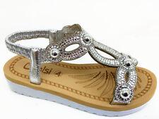94868e1e2 item 1 New Womens Flatform Sandals Embellished Slingback Comfy Holiday  Shoes size 3-8 -New Womens Flatform Sandals Embellished Slingback Comfy  Holiday Shoes ...