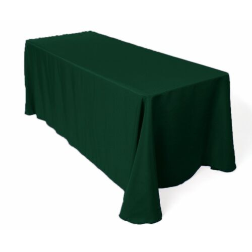 """Rectangle Polyester Tablecloth 90"""" x 120"""" By Add And Ship"""