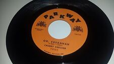 """CHUBBY CHECKER Oh Susannah / Pony Time PARKWAY 818 45 7"""""""