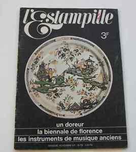 Revue-d-039-art-L-039-ESTAMPILLE-n-4-1969-Bienale-Florence-instruments-musique-anciens