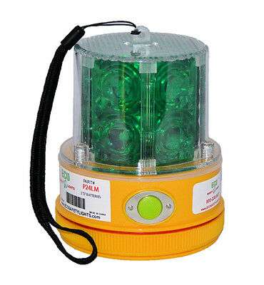 P24LM AMBER Yellow Beacon Truck Boat Portable 24 LED/'s Warning Safety Light