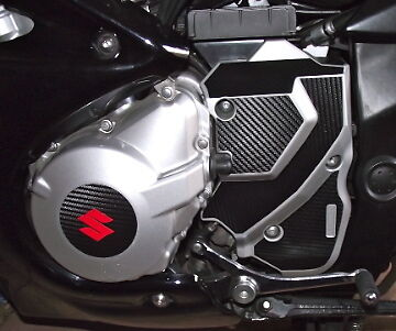 Suzuki GSX1250F, GSF Bandit Carbon Vinyl sprocket covers