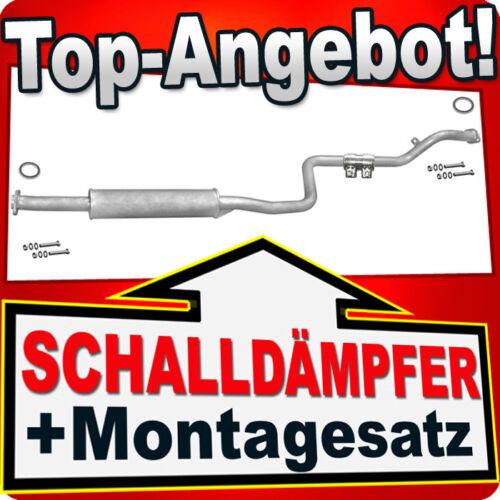 Mittelschalldämpfer MAZDA 626 1.8//1.9 2.0 16V Schrägheck Stufenheck 97-03 KKM