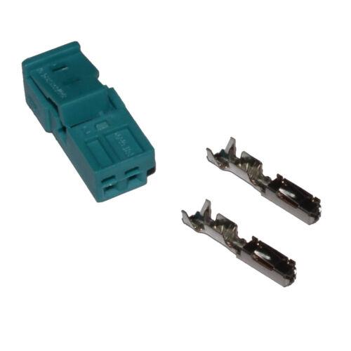 Stecker 2-polig Reparatursatz uncodiert für BMW 61132360043 Crimp weiblich