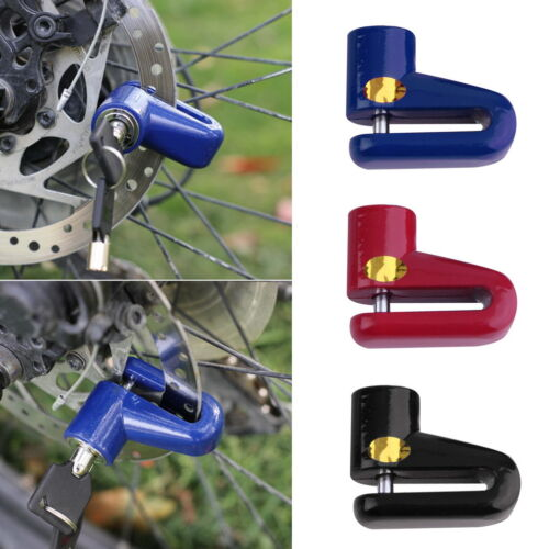 Motorcycle Motorbike Bike Bicycle Security Safe Disc Brake Wheel Lock New NCWU