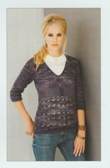 Stylecraft Senses Lace Ladies Sweater//Tank Knitting Pattern 8833 Sizes 32-50/""