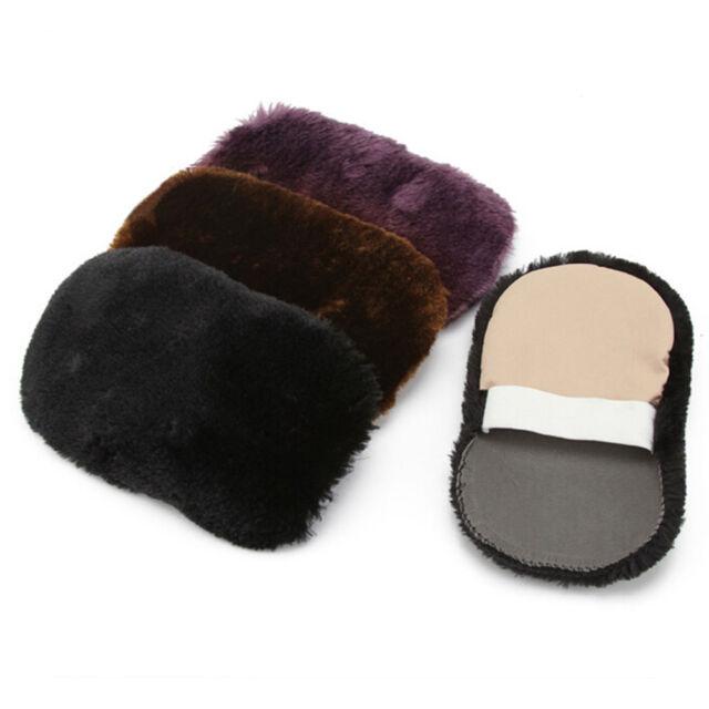 Quick Shine Shoes Shine Sponge Brush Polish Dust Cleaner Cleaning Tool Useful LI