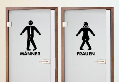 Murales toilettenmännchen pared Pegatina de imagen lámina de pared nota escudo inodoro