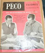 PECO 1963 CATALOGUE WITH PRICE LIST
