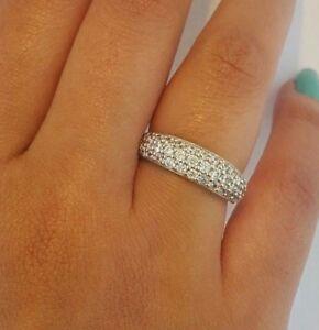 14k Solid Yellow Gold 0.50 Ct Diamond Wedding Band Ring Round Cut