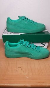 Details about Puma Suede Classic Ice Mix JR. MINT LEAF SIMPLY Green JUNIOR  SIZE 4C