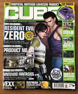 Issue 16 Cube Magazine 2000s GameCube Resident Evil Zero review