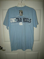 Brand Mens Blue & White Unc Carolina Tarheels Section 101 Shirt, Size L