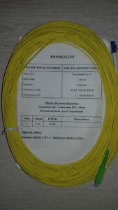 Jarretiere-Optique-Monomode-Simplex-9-125-Optronics-SC-APC-LC-40m-NEUVE